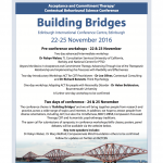 ACT-CBS Conference - Edinburgh 2016 Flyer