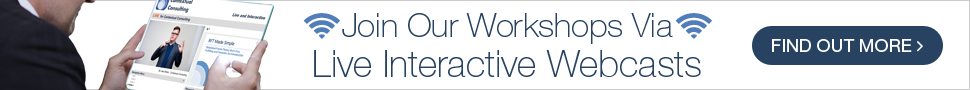 Join Our Workshops Via Live Interactive Webcasts