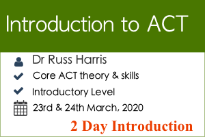 Introduction to ACT Workshop with Russ Harris | Contextual